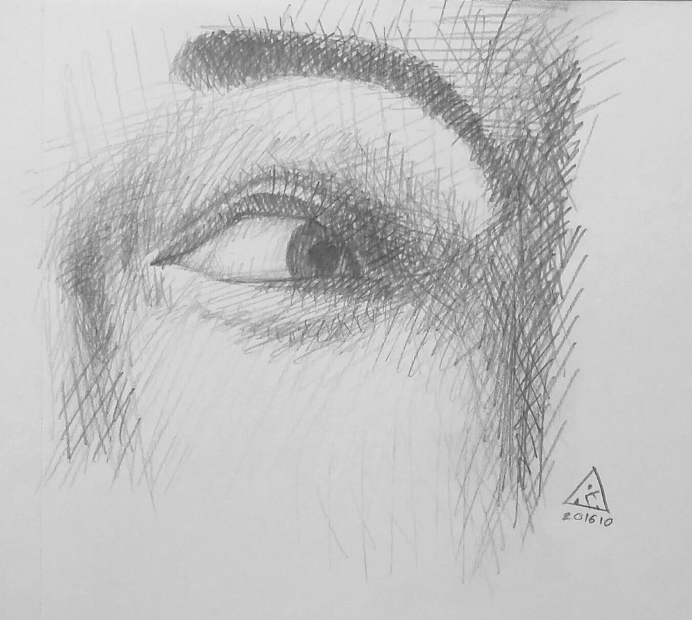 Crosshatch Eye