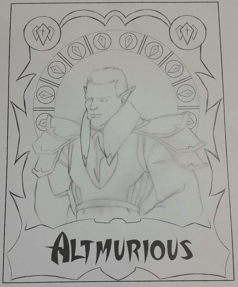 Altmurious Portrait Design