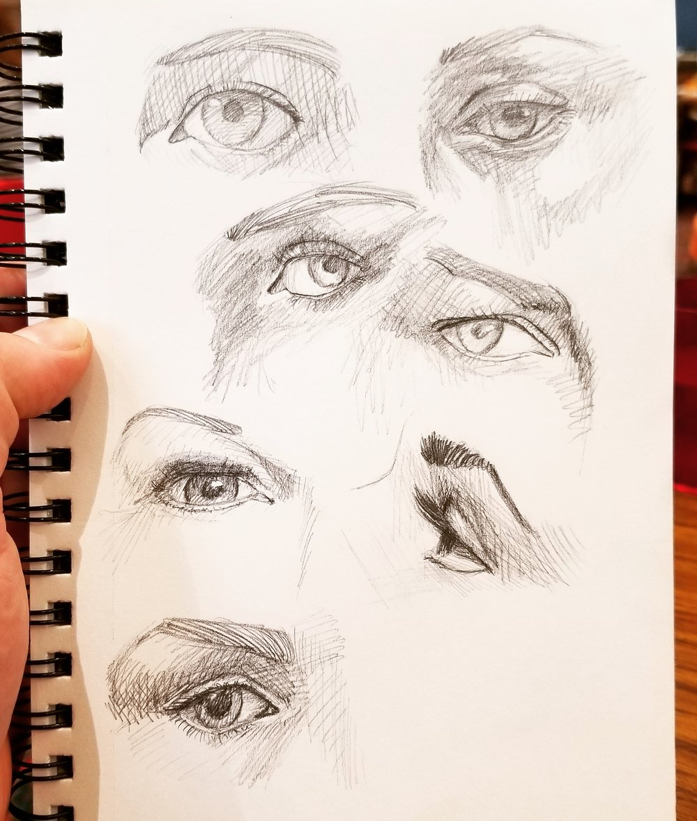 Sketch of Eyes