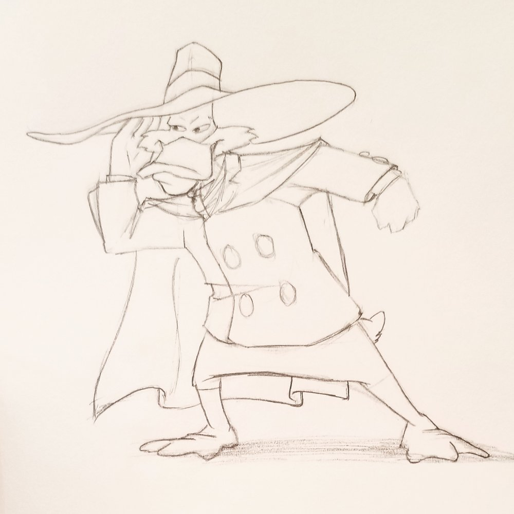 Fanart Darkwing Duck
