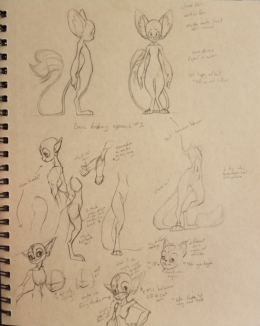 Character Development Page_Little Critter