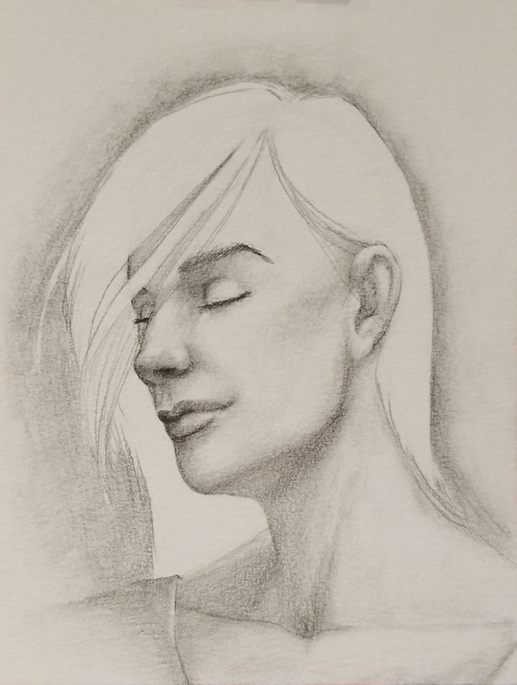Random Portrait Sketch 01