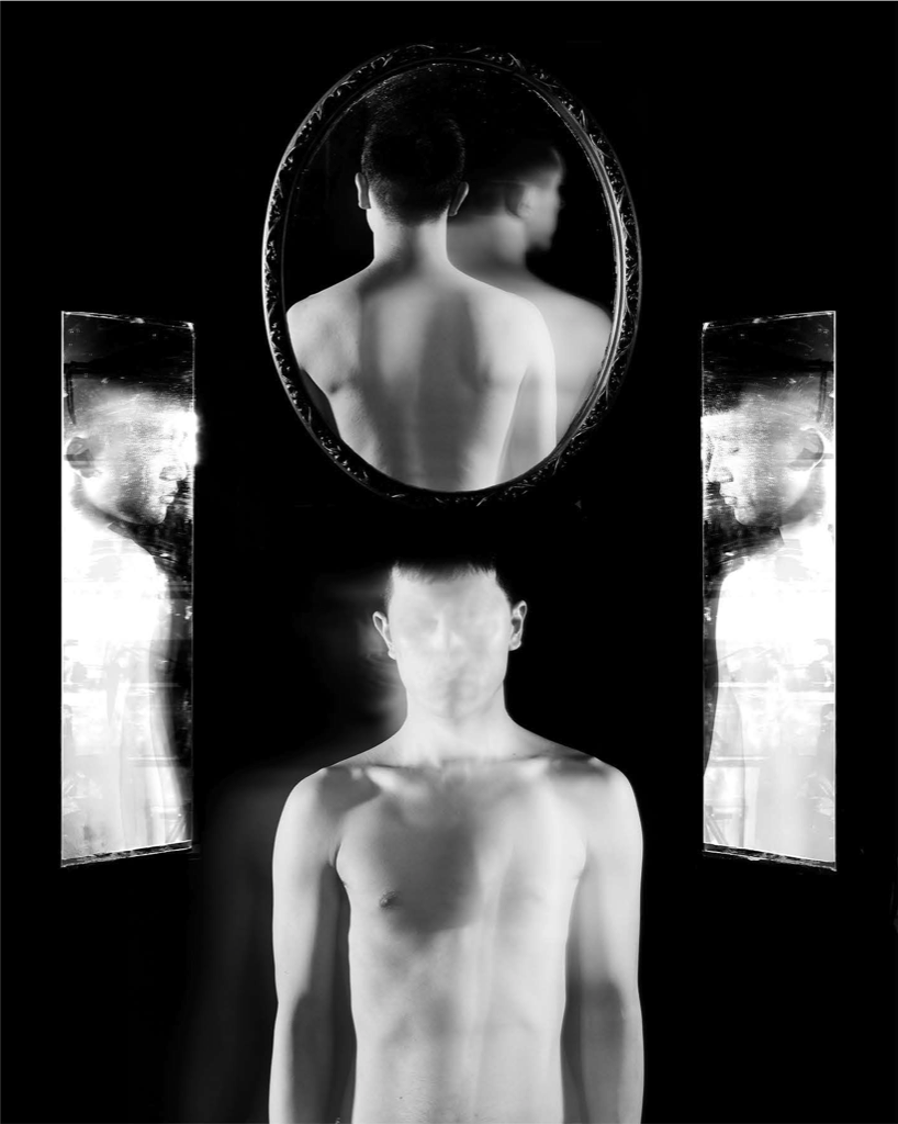 A Self Portrait with Mirrors