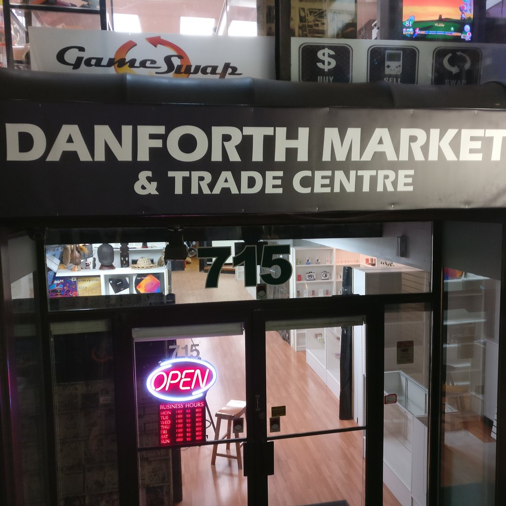 Danforth Market view from outside