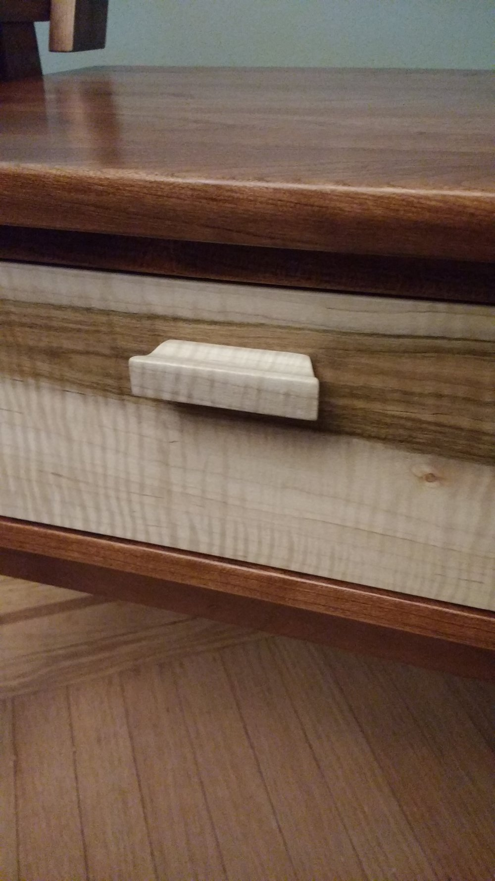Hall Bench detail