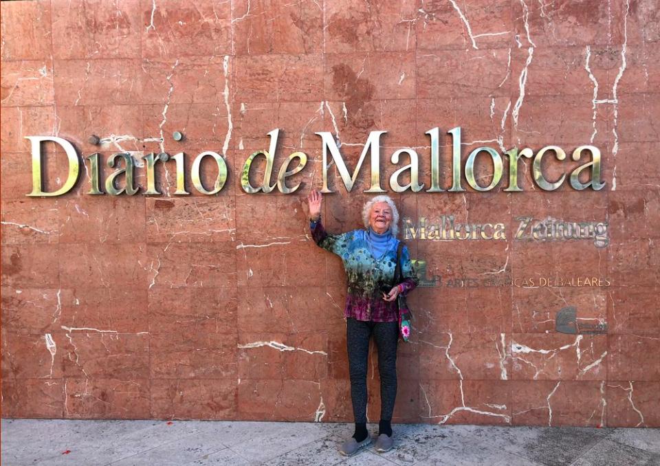 Pilar at  Diario de Mallorca