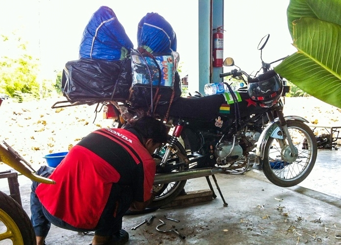 Motorbike Trip Across Cambodia and Thailand