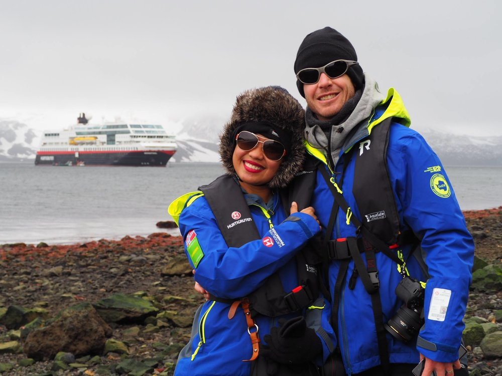 We're Spending our #Honeymoon on a 16-Day #Antarctica Expedition Cruise! @HurtigrutenUK @Hurtigruten