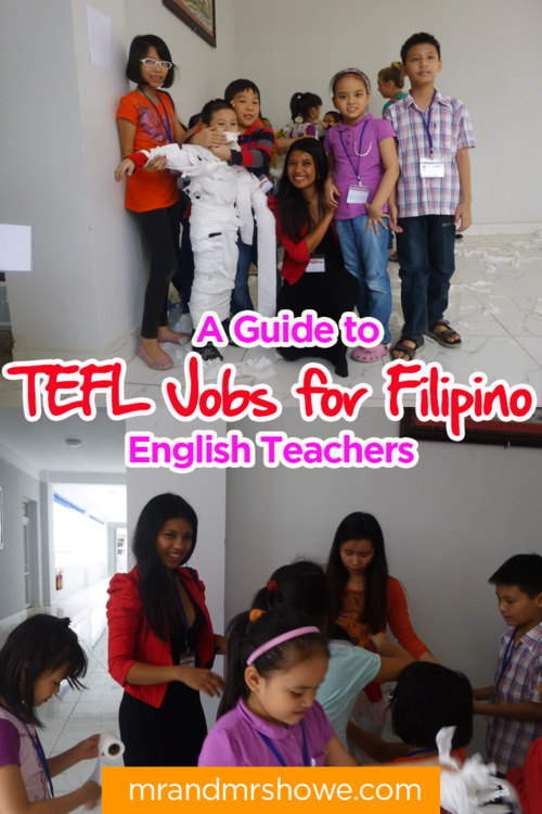 tefl certification for filipinos - a guide to tefl jobs for filipino ...