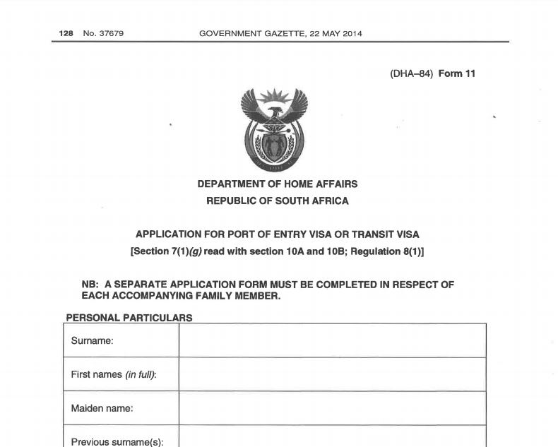 3 Steps On How To Get A South African Tourist Visa For Filipinos