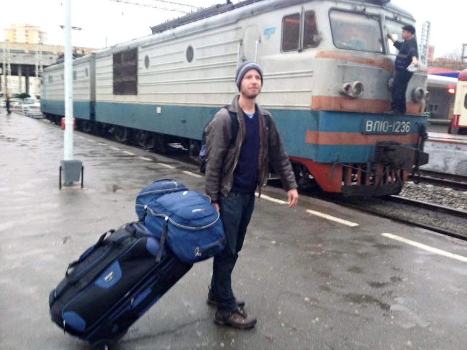 Crossing Border and Train Ride Experience from Tbilisi, Georgia to Baku, Azerbaijan (vice-versa)
