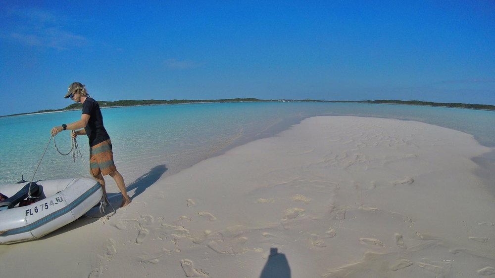 DAY 20. Second Night of Anchoring in Compass Cay, Exuma, The Bahamas!