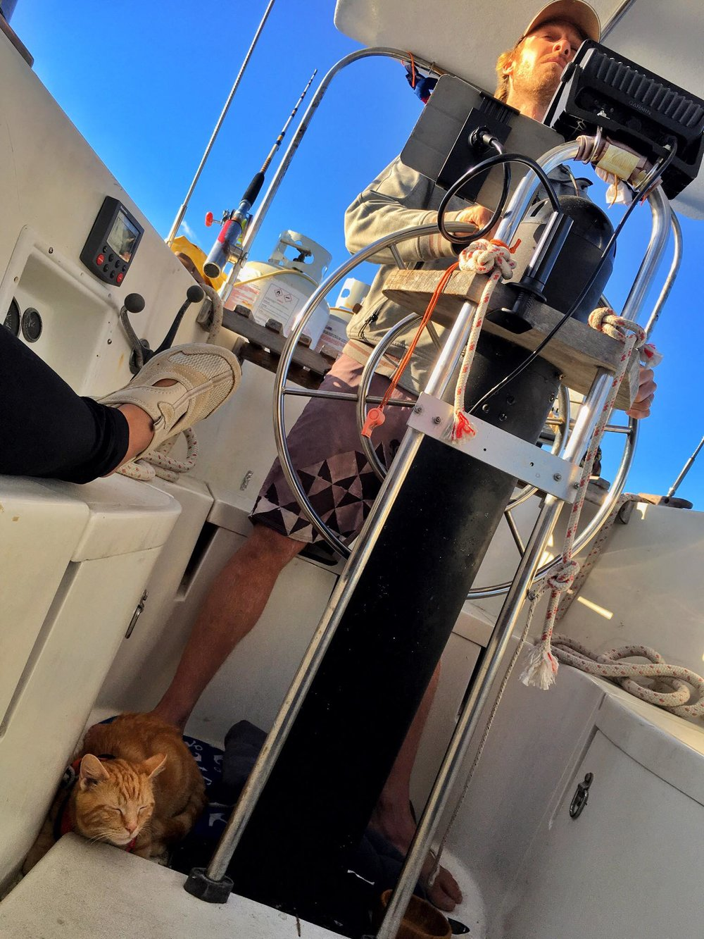 Crossing The Great Bahama Banks - Our Overnight Passage from Bimini to Nassau, The Bahamas - Captain's Log #2