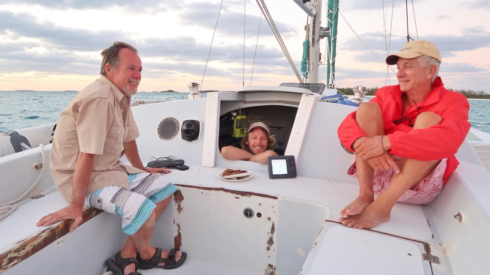 Sailing Life Day 27: Arriving in George Town and Sunset Cruise on Trimaran Tim's boat!