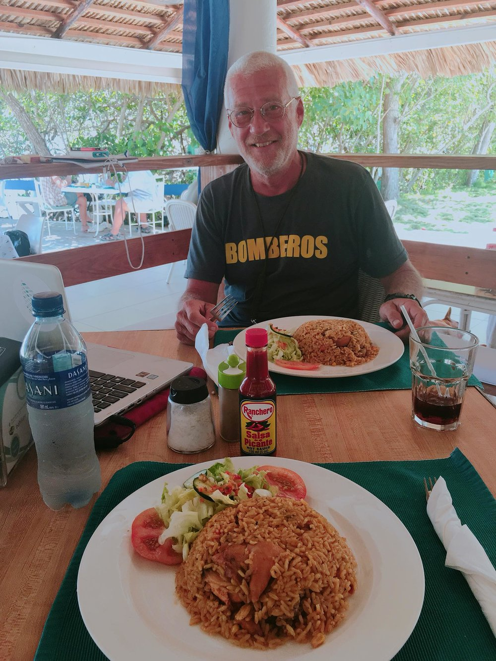 Sailing Life Day 52:  Another Work Day but at the Las Velas Restaurant, Puerto Blanco Marina