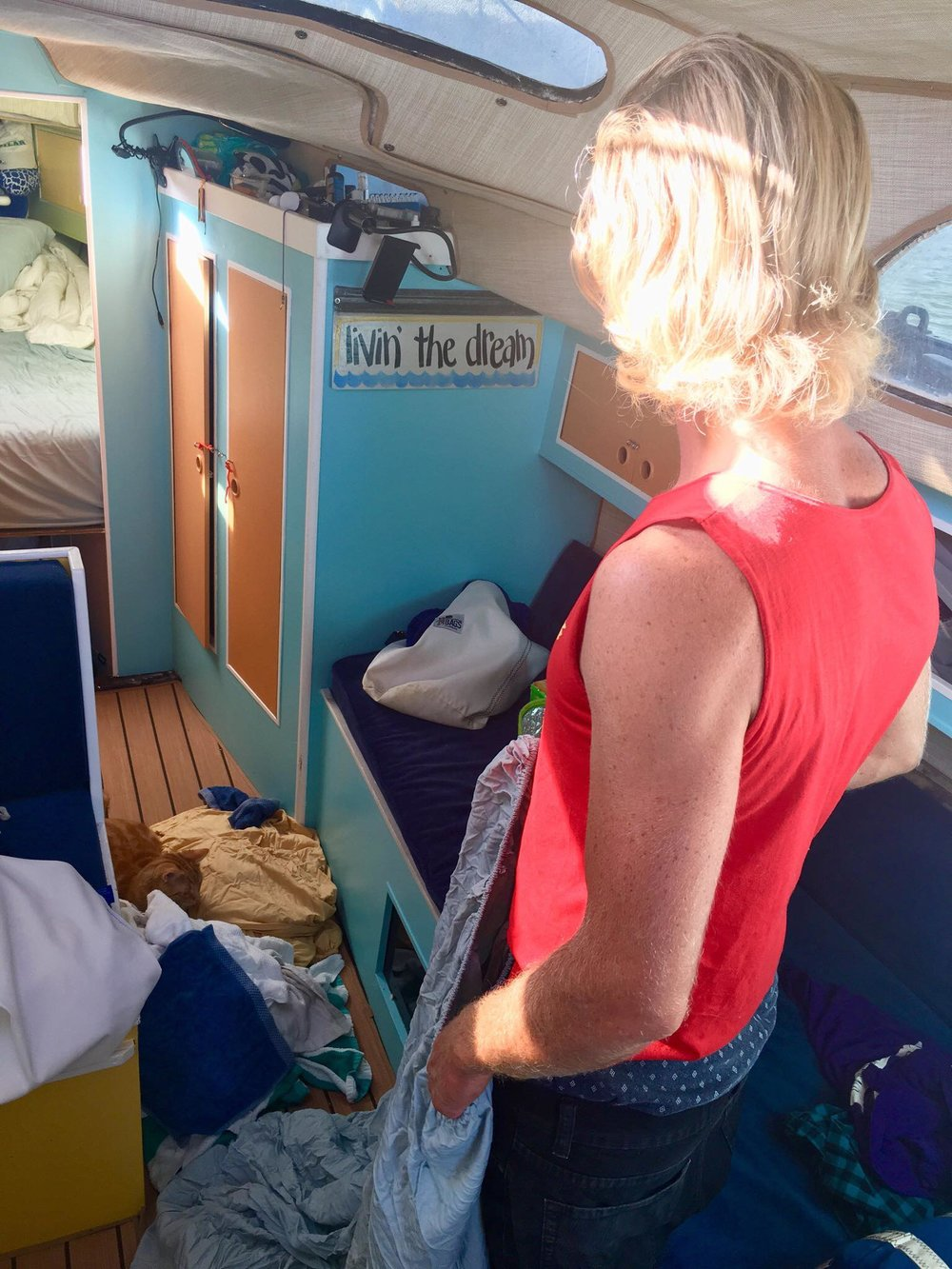 "Liveaboard Life Day 96 - 97: Unexpected Boat projects and our floating ""slum"" (s/v Empress)"