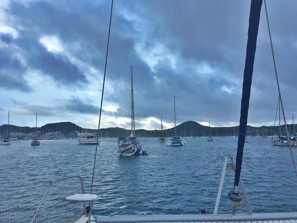 Surprise Trip: Crewing on a Leopard 46 Catamaran from Martinique to Rhode Island via Bermuda