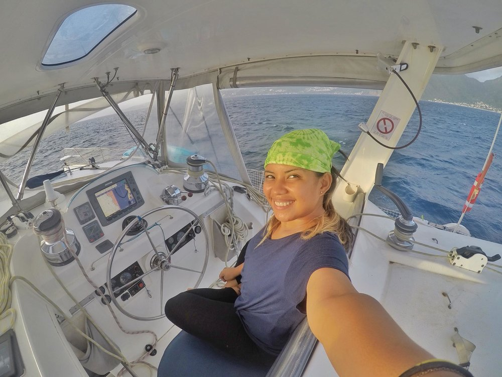 Kach Solo Sailing Adventures: Volunteering on a Catamaran Delivery from Martinique to Antigua