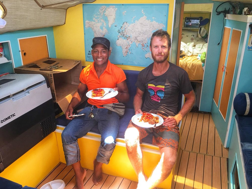 Liveaboard Life Day 135: Productive Day and Pizza Night at Las Velas Restaurant