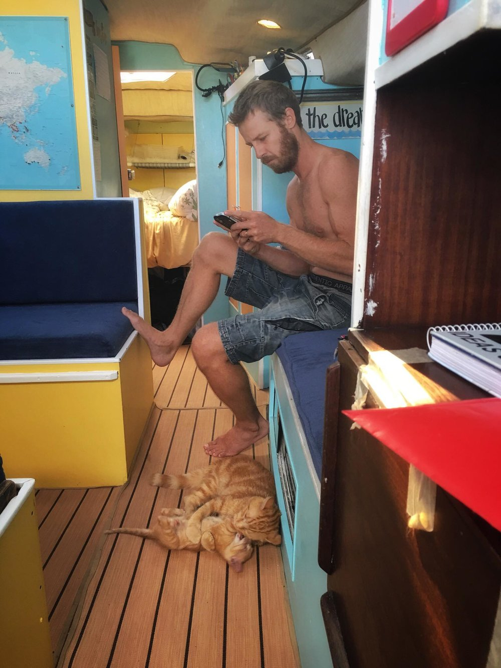 Liveaboard Life Day 152: What happened to the social life and adventure? Ha!