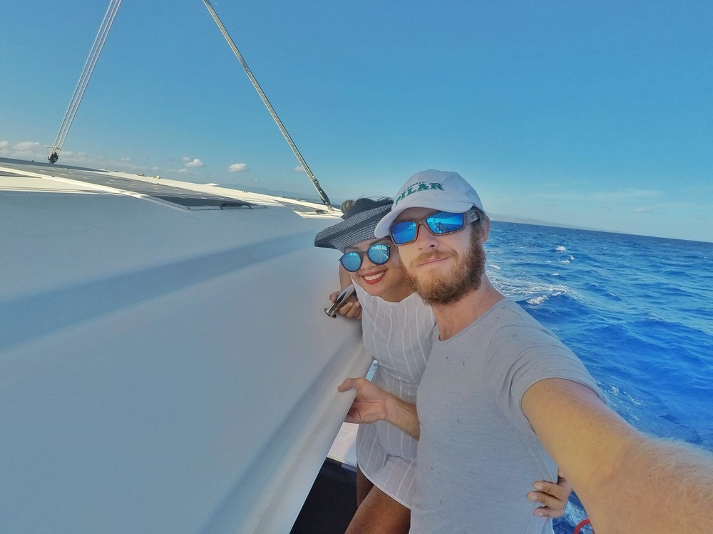 Liveaboard Life Day 110: Day Sailing on S/Y Keeping the Faith (Leopard 40 Catamaran) to Cambiaso and catching a Wahoo!