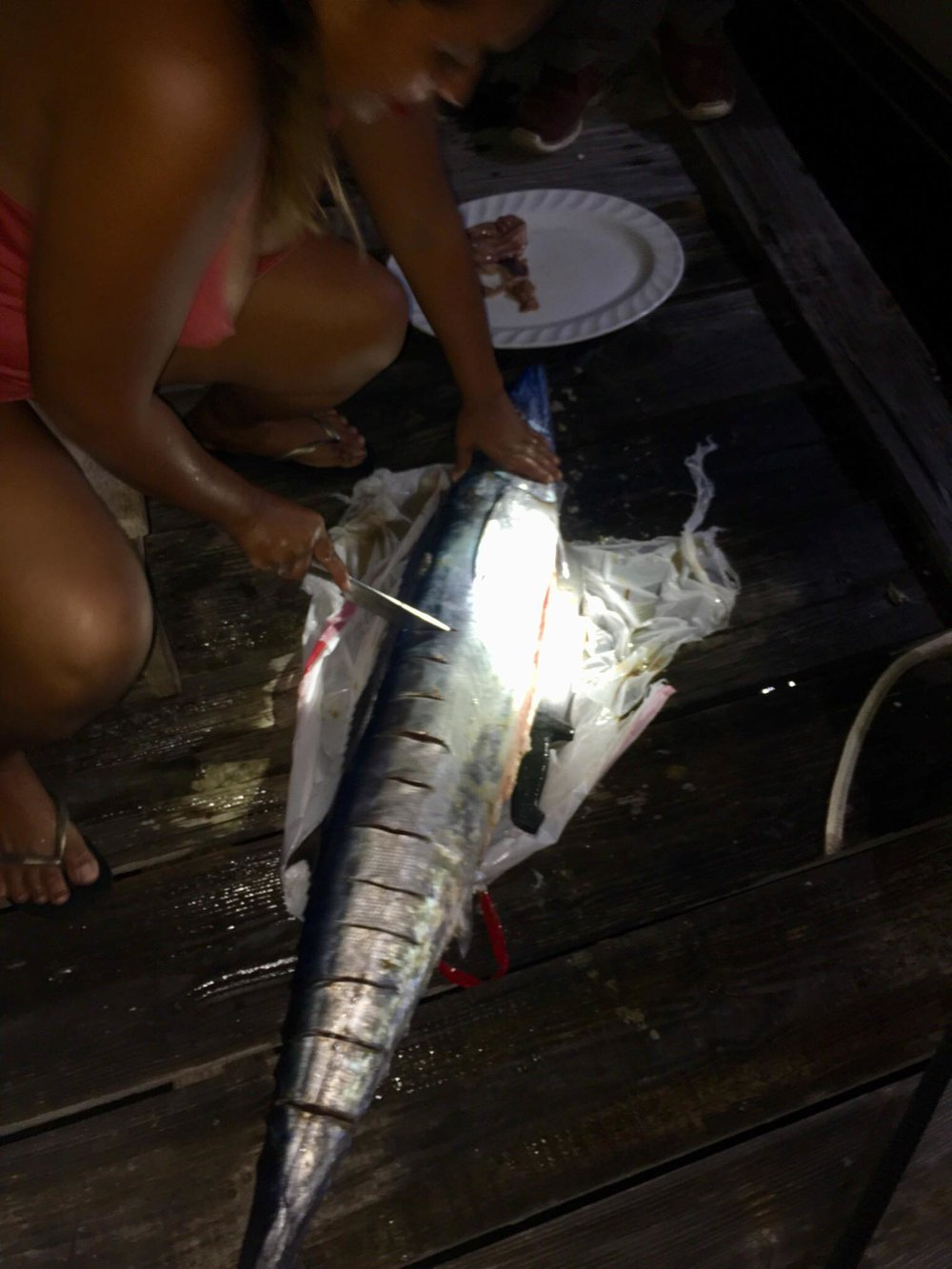 Liveaboard Life Day 170: Day Sailing on S/Y Keeping the Faith (Leopard 40 Catamaran) to Cambiaso and catching a Wahoo!