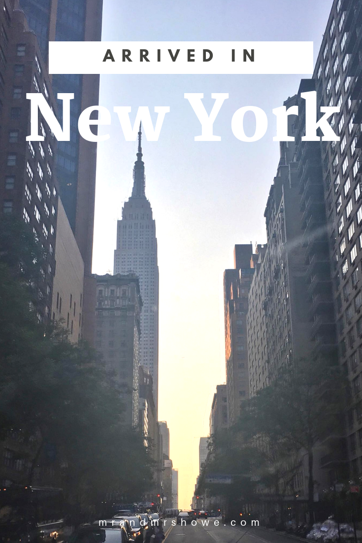 Kach Solo Travels Day 1: Arrived in New York!