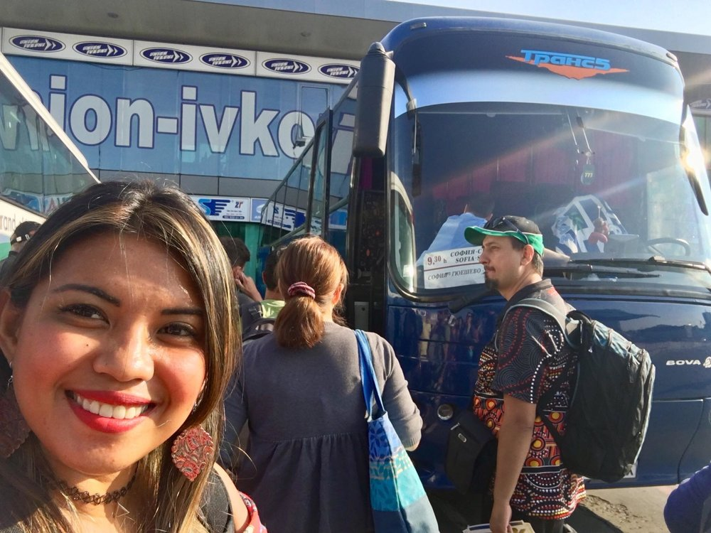 Kach Solo Travels Day 25: Crossing from Bulgaria to Macedonia ❤️