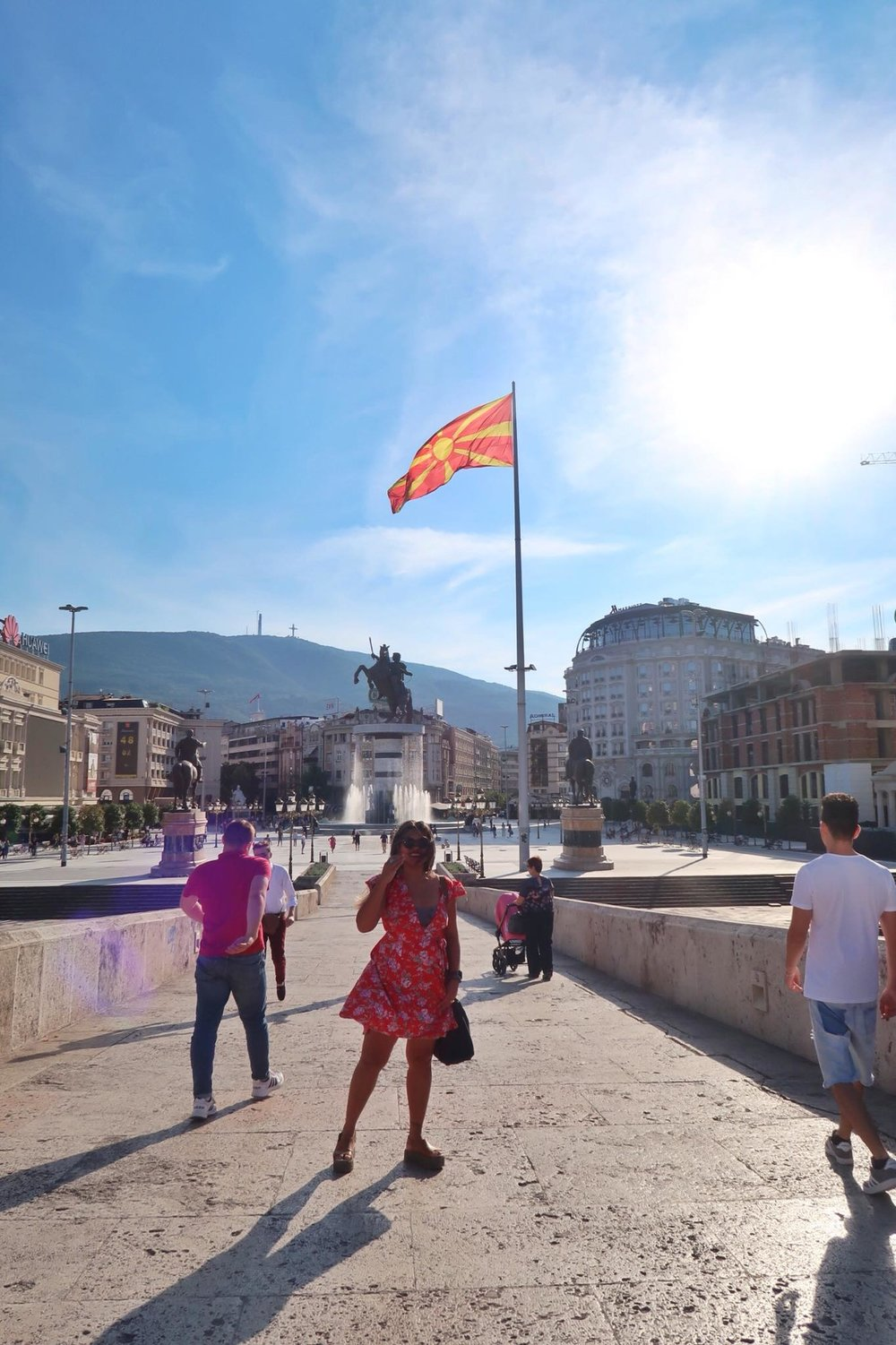 Kach Solo Travels Day 26: Now in Skopje, Macedonia 💋