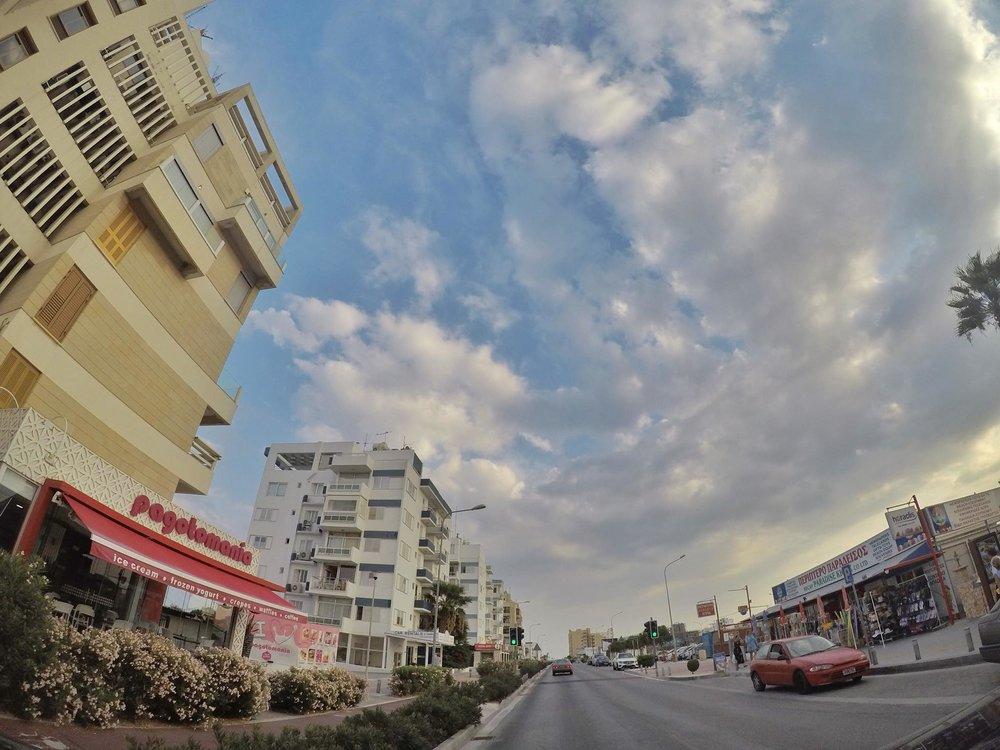 Kach Solo Travels Day 31: Walking Tour around Larnaca, Cyprus