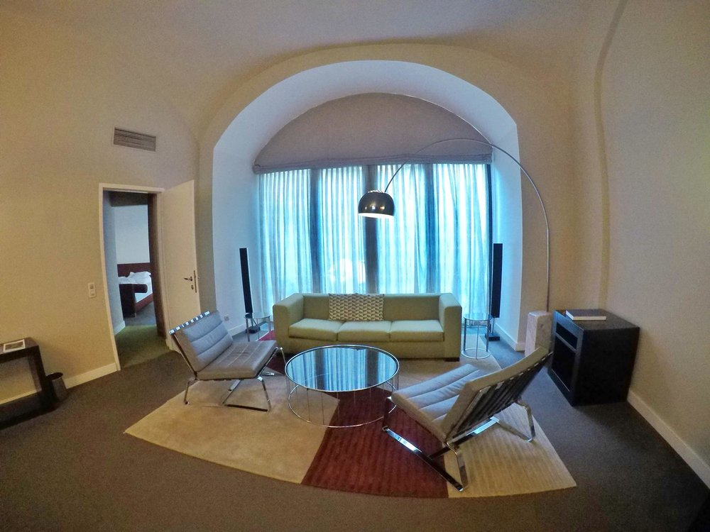 Kach Solo Travels Day 36: This is what a Business Suite in Hotel Das Treist, Vienna looks like!
