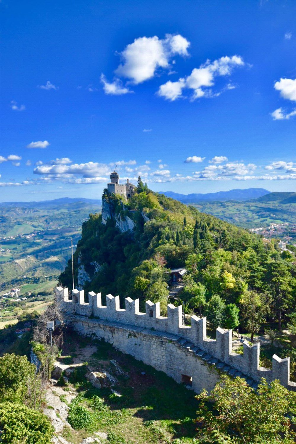Kach Solo Travels Day 42: Hello from San Marino, my country 114! тЭдя╕П