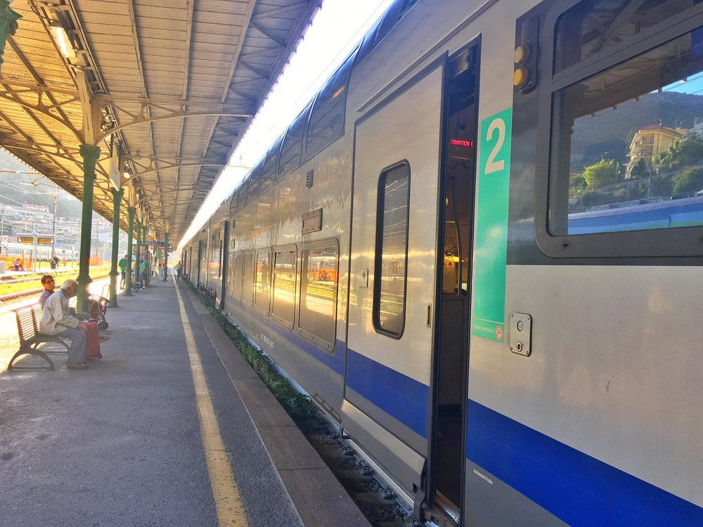 Kach Solo Travels Day 46: Overnight Train Journey with my Eurail Pass from Naples, Italy to Menton, France