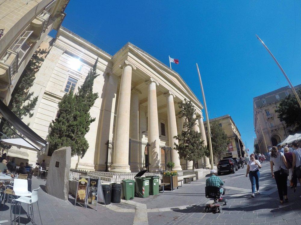 Kach Solo Travels Day 47: Hello from Valletta, MALTA!