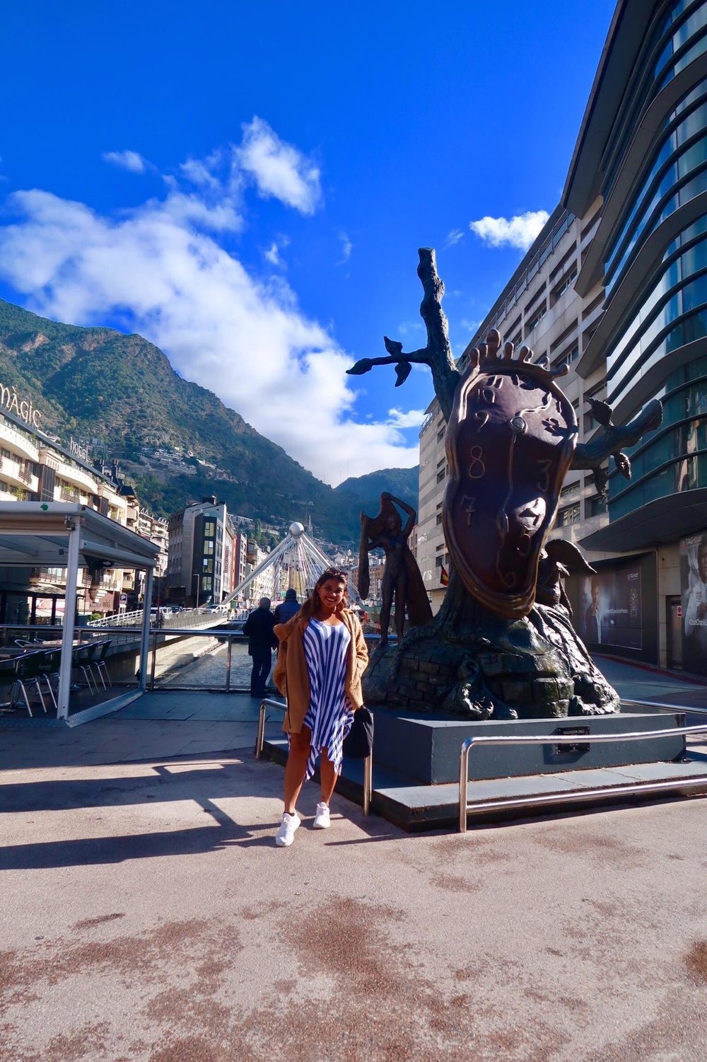 Kach Solo Travels Day 53: Hello from #ANDORRA! My country 117th 💋