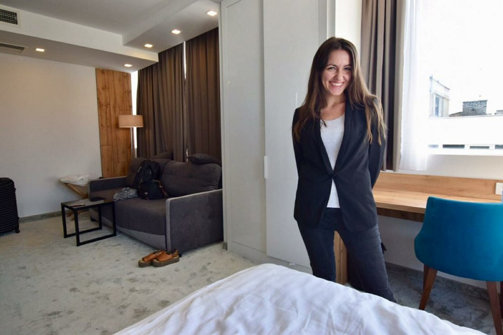 Kach Solo Travels Day 58 - 60: My staycation experience in Mark Hotel Belgrade in Serbia!
