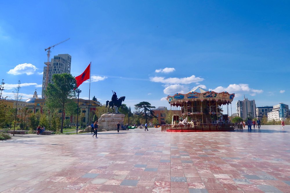Kach Solo Travels Day 61: Arrived on my 120th country - ALBANIA!