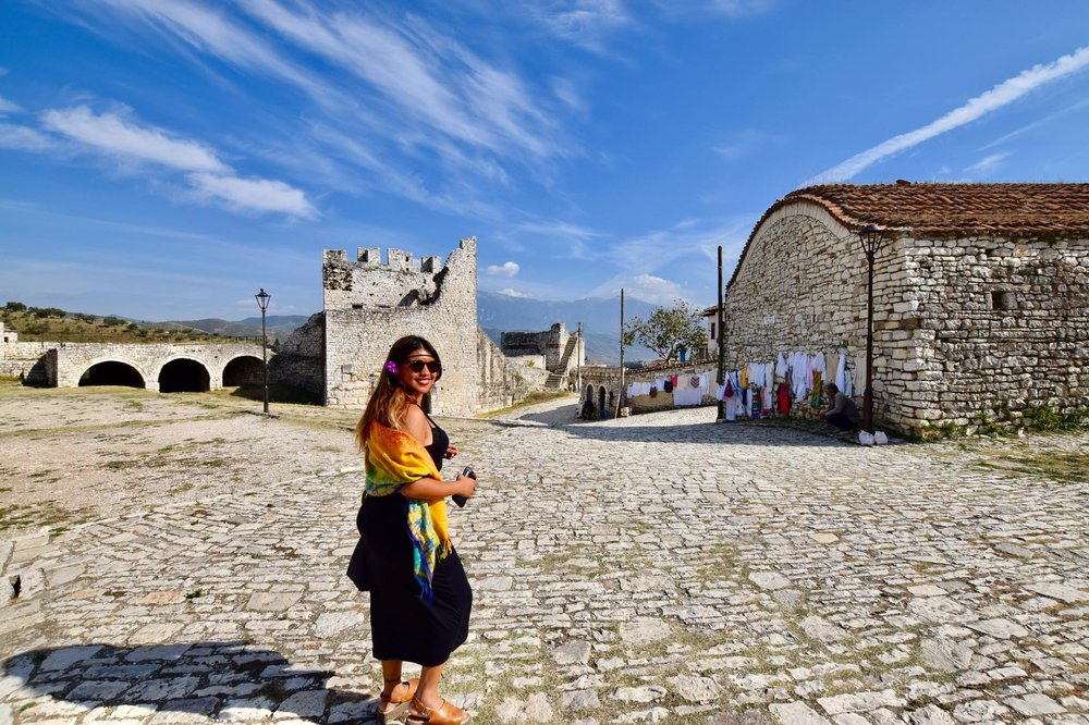 Kach Solo Travels Day 63: 4th Day in Albania and we visited BERAT which is a UNESCO World Heritage Town since 2008 ❤️