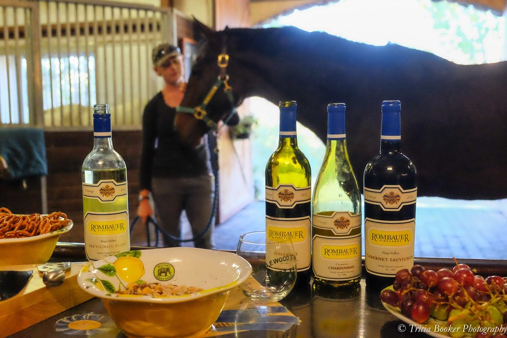 Rombauer Wine Tasting and Stallion Showcase