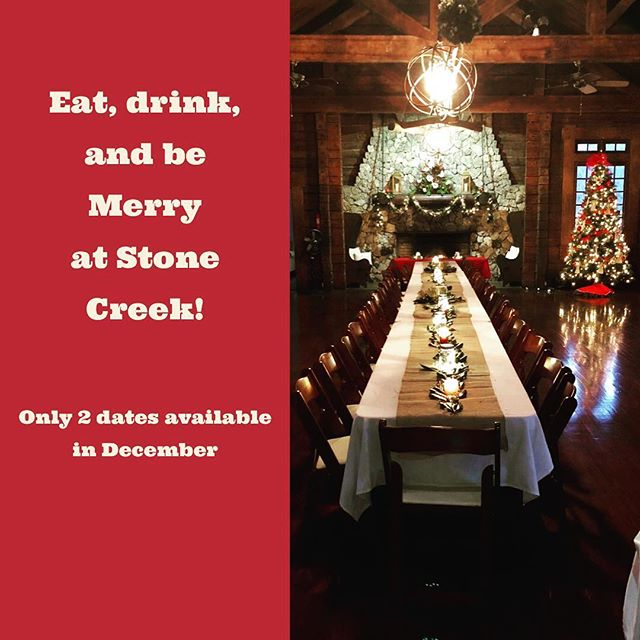 Contact us to book your Christmas Party!
