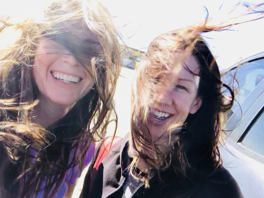 - It might have been a little windy.