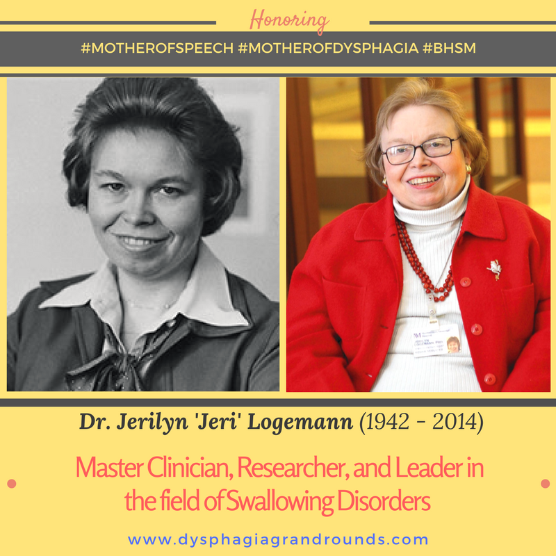 Dr. Jeri Logemann - Mother Of Dysphagia