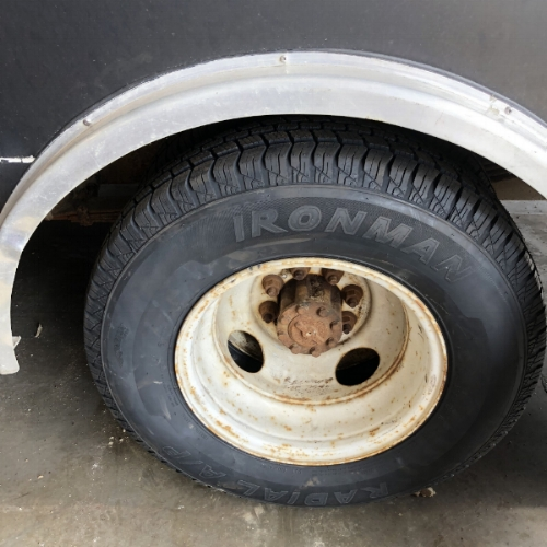 6 new tires  - a crucial safety improvement