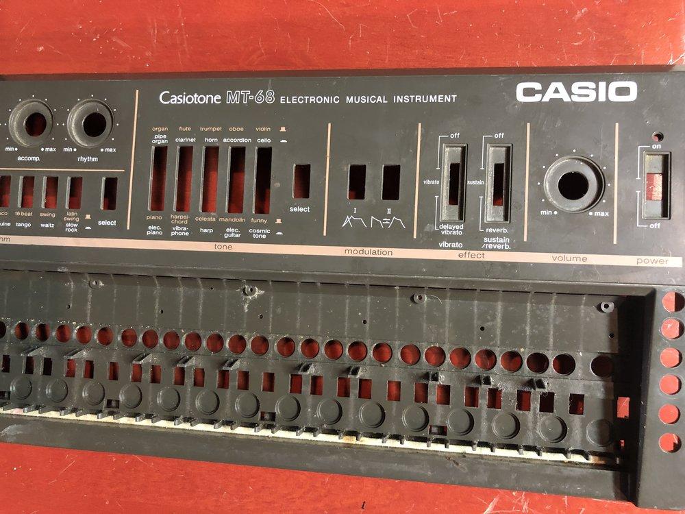 Casio MT-68 case