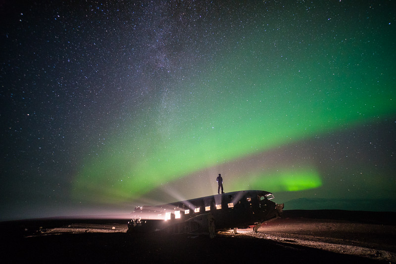 This photo by Chris Burkard has always inspired us to go to the beautiful scene of the plane wreck in Iceland and explore. Thriving to bring out unique content such as this photo.