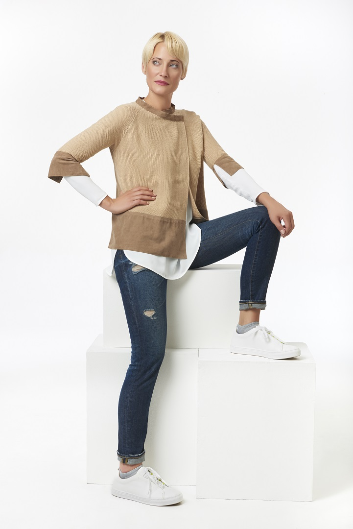 Leather+trim+sweater+with+long+silk+top.jpg