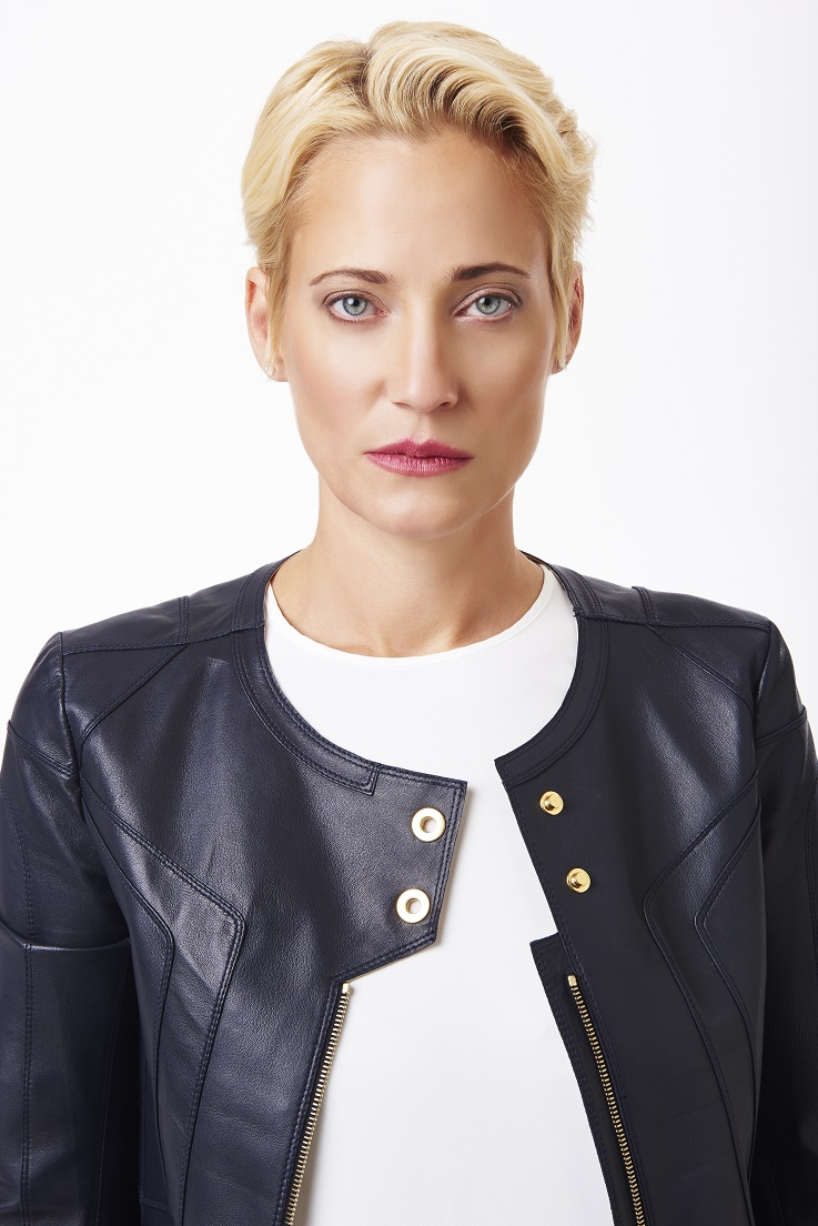 Navy+leather+jacket+with+snap+detail+and+long+silk+blouse,+close+shot.jpg