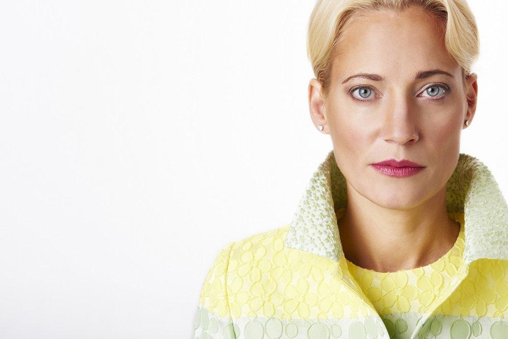 Yellow+and+green+textured+blazer+and+dress,+close+shot.jpg