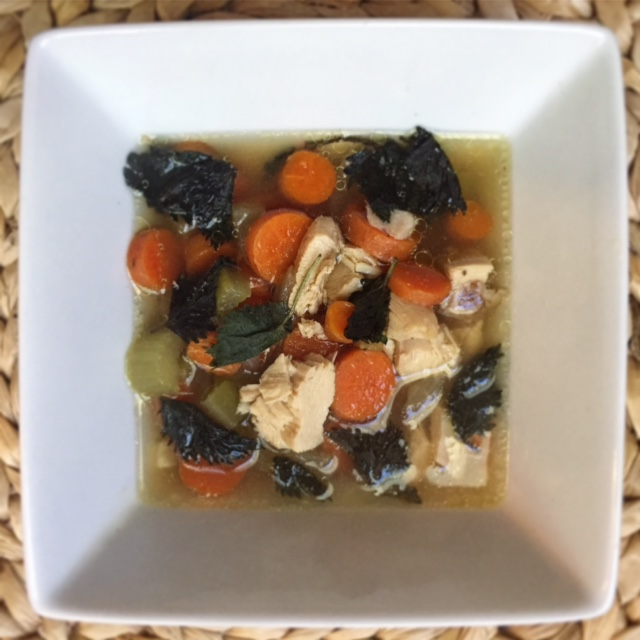 Post wholly chloe celery and carrots with some chicken from the above broth recipe and you have a deeply nourishing easy to digest first food after baby arrives forumfinder Image collections