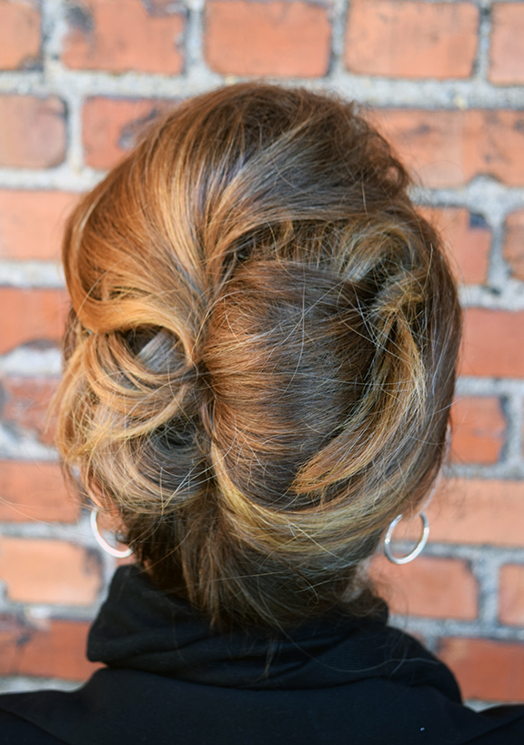 Formal hair  style at Alter EGO Blow Dry Bar.